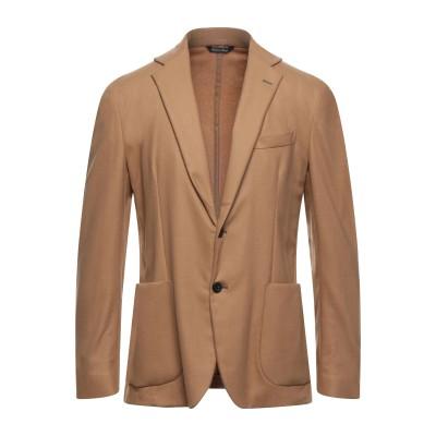 ブライアン デールズ BRIAN DALES テーラードジャケット キャメル 52 ウール 63% / ナイロン 30% / カシミヤ 5% / ポ