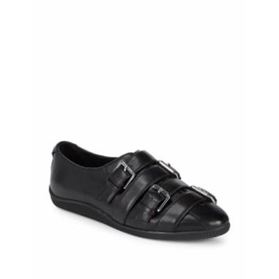 オープニングセレモニー レディース シューズ スニーカー Buckle Leather Sneakers