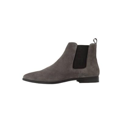 ウォークロンドン ブーツ&レインブーツ メンズ シューズ ALFIE CHELSEA BOOT - Classic ankle boots - tanned grey