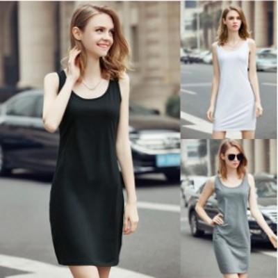 ミニドレス パーティードレス タイトスカート ミニ ドレス ワンピース 袖なし ノースリーブ 大きいサイズ ブラック