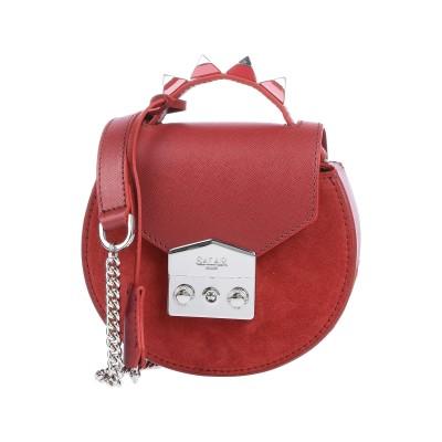SALAR ハンドバッグ ボルドー 牛革(カーフ) 100% ハンドバッグ