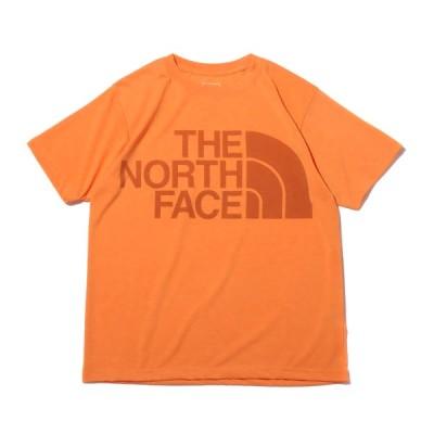 ザ・ノース・フェイス THE NORTH FACE 半袖Tシャツ ショートスリーブ カラー ヘザー ロゴ ティー (LIGHT EXVELANCE ORANGE) 21SS-I at20-c