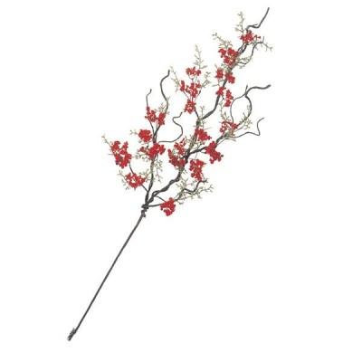 正月 飾り 正月飾り 65cm レッドベリー バイン 小 装飾 ディスプレイ