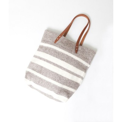 "【SALE対象商品】STEVE MONO ""BLANKET TOTE""(BROWN NATURAL)"