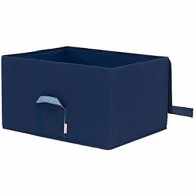 ルミナス メタルラック用 収納ボックス ネイビー 幅54×奥行43×高さ30cm(LSB5443HNV)(ブルー)