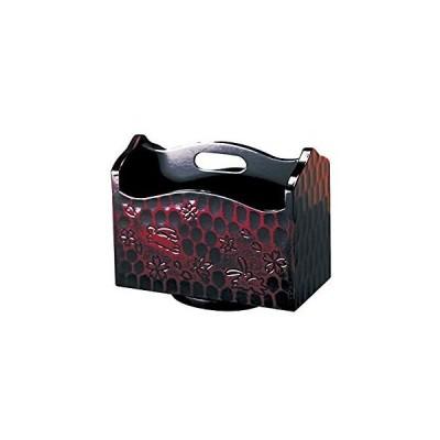 東出漆器 リモコンラック ブラウン サイズ:20×11×高さ16.5cm