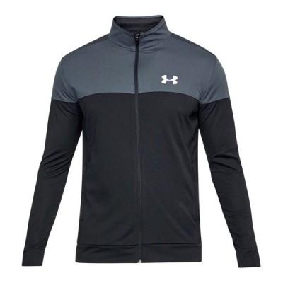 アンダーアーマー メンズ Under Amour Sportstyle Pique Jacket ジャケット Stealth Gray / White
