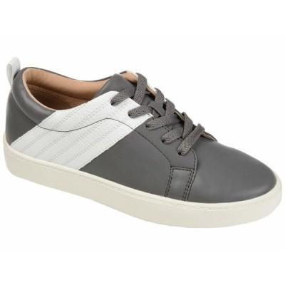 ジャーニーコレクション スニーカー シューズ レディース Comfort Foam Raaye Sneakers Grey