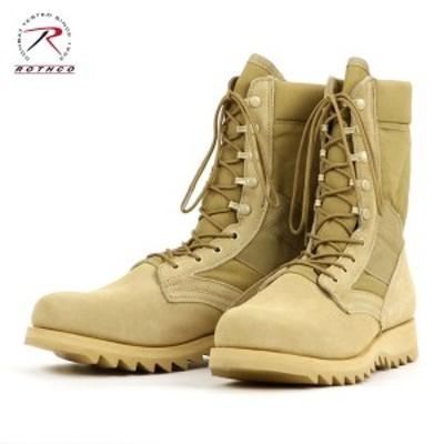 ロスコ ROTHCO 正規品 メンズ ブーツ G.I. Type Desert Tan Ripple Sole Jungle Boots 5058