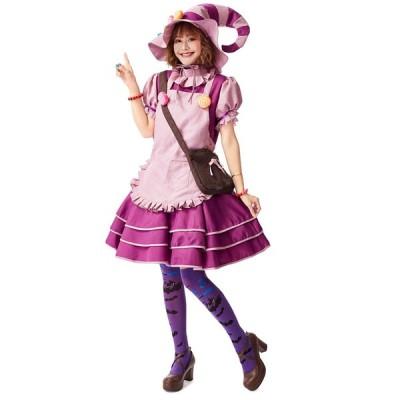 ハロウィン コスプレ cosplay 魔女 コスチューム ウィッチ 女性 大人 可愛い ワンピース 衣装 デビル 大きいサイズ 魔法少女 悪魔