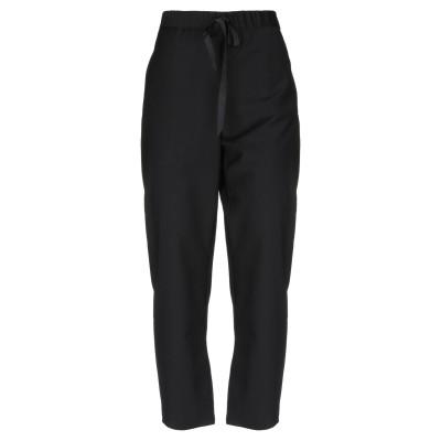 セミクチュール SEMICOUTURE パンツ ブラック 40 ポリエステル 54% / バージンウール 44% / ポリウレタン 2% パンツ