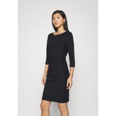 カフェ レディース ワンピース トップス SARA DRESS - Shift dress - black deep black deep