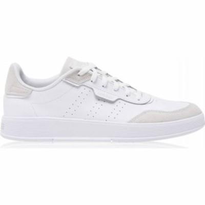 アディダス adidas メンズ スニーカー シューズ・靴 Adidas Courtphase Trainers White/Wht/Grey