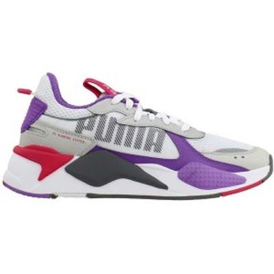 プーマ レディース スニーカー シューズ RS-X Bold Lace Up Sneakers Puma White / High Rise