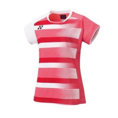 YONEX ヨネックス 20590 テニス・バドミントン ウエア(ウィメンズ) ウィメンズゲームシャツ コーラルレッド 20590