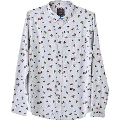 カブー メンズ シャツ トップス KAVU Men's Linden Shirt