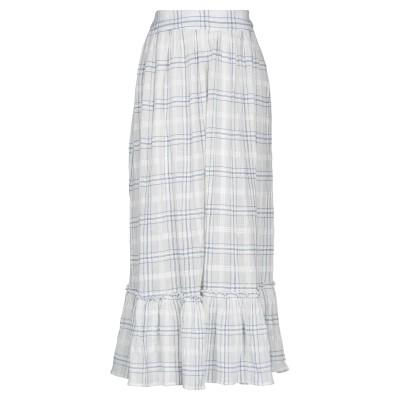 ANTIK BATIK ロングスカート ホワイト 36 コットン 100% ロングスカート