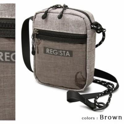 【 REGiSTA / レジスタ 】 縦型 クリアポケット ミニショルダーバッグ / サコッシュ(588) 【送料無料】(メンズバッグ、レディースバッ