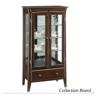 完成品『彩美 コレクションボード』コレクションボード リビングボード ガラスキャビネット コレクションケース ガラスケースショーケース 食器棚
