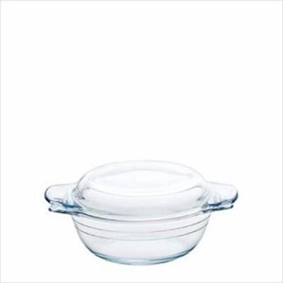 取寄品 アルキュイジーヌ 耐熱ガラス鍋 キャセロール0.75 H-3608 キッチン雑貨石塚硝子