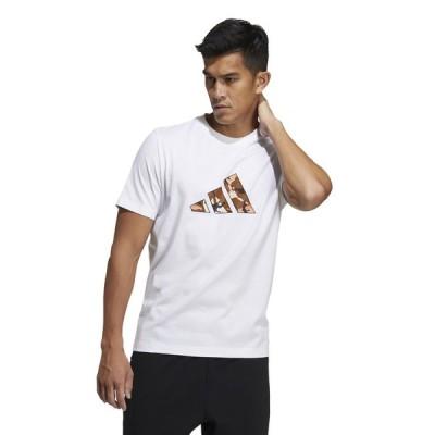 adidas アディダス M STREET 3 BAR GRFX TEE 49049 GP0852 メンズスポーツウェア 半袖ベーシックTシャツ メンズ ホワイト