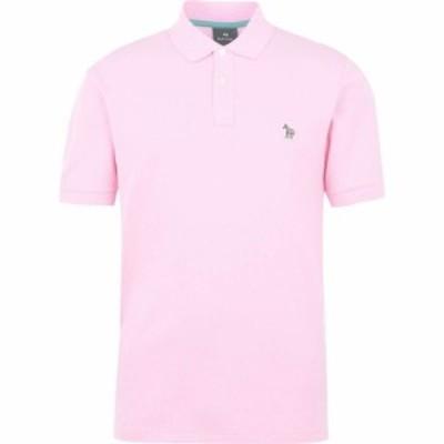 ポールスミス PS by Paul Smith メンズ ポロシャツ トップス Zebra Polo Light Pink