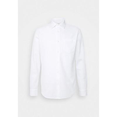 クラブ モナコ シャツ メンズ トップス SOLID - Shirt - white