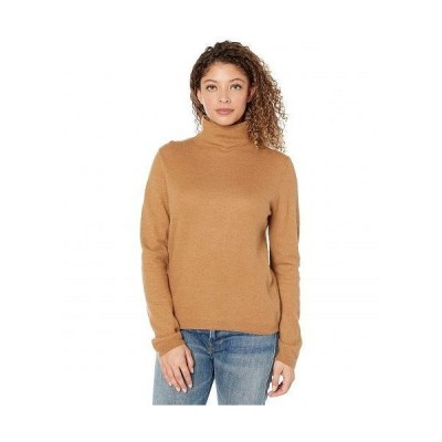 Vince ヴィンス レディース 女性用 ファッション セーター Fitted Turtleneck - Amber