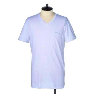 ディーゼル DIESEL Tシャツ 00SPDM 0AALW 100 メンズ