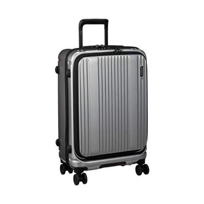 [バーマス] スーツケース ジッパー インターシティ 60501 保証付 53L 56 cm 3.5kg シルバーヘアライン
