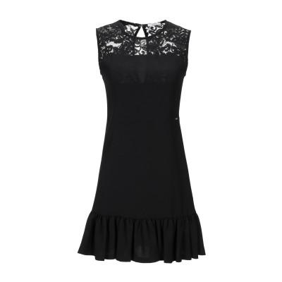 リュー ジョー LIU •JO ミニワンピース&ドレス ブラック 38 ポリエステル 91% / ポリウレタン 9% / ナイロン / コットン ミ