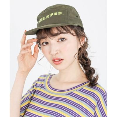 MILKFED. / FADE LOGO JET CAP WOMEN 帽子 > キャップ
