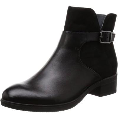 [モードカオリ] ブーツ 21152 レディース ブラック/ヌバック JP 22.5(22.5cm) 2E