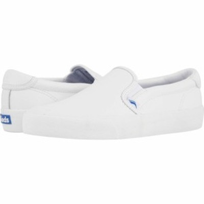 ケッズ Keds レディース スニーカー シューズ・靴 Crew Kick 75 Slip-On Leather White
