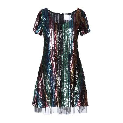 ATHENA PROCOPIOU ミニワンピース&ドレス ブラック 1 ポリエステル 100% ミニワンピース&ドレス