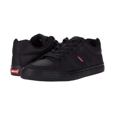 Levi's(R) Shoes リーバイス メンズ 男性用 シューズ 靴 スニーカー 運動靴 Turner Tumbled Wax - Black Monochrome