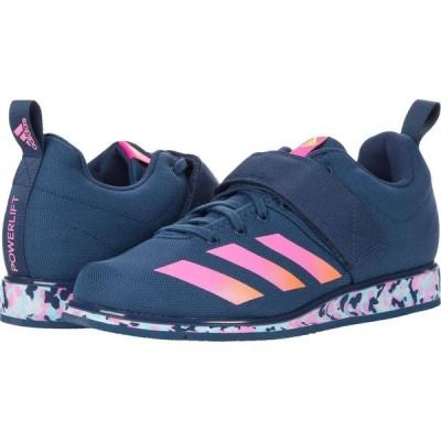 アディダス adidas メンズ スニーカー シューズ・靴 Powerlift 4 Crew Navy/Screaming Orange/Screaming Pink