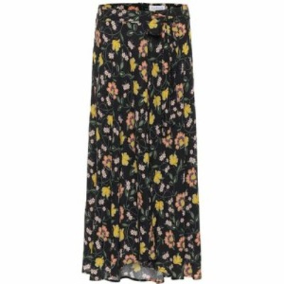 ベルベット グラハムandスペンサー Velvet レディース スカート ラップスカート Swan Floral Wrap Skirt Iberis