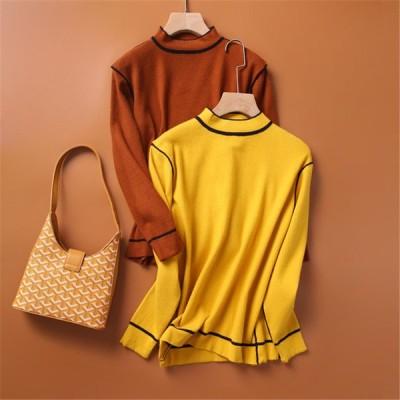 年末セール ニット セーター 長袖 レディース トップス 暖か 秋服 秋冬 大きいサイズ ゆったり 体型カバー おしゃれ