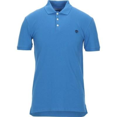 ティンバーランド TIMBERLAND メンズ ポロシャツ トップス Polo Shirt Azure