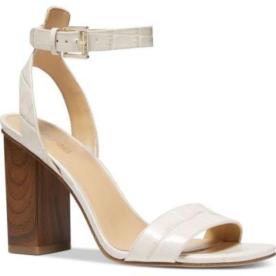 マイケル コース Michael Kors レディース サンダル・ミュール シューズ・靴 Petra Ankle-Strap Dress Sandals Light Cream