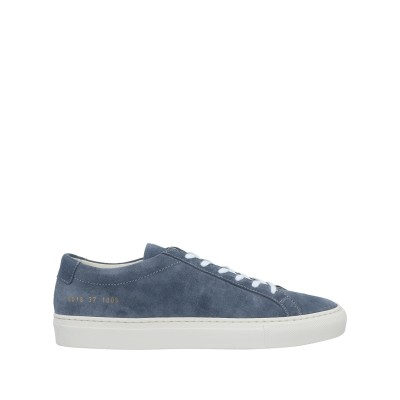 WOMAN by COMMON PROJECTS スニーカー&テニスシューズ(ローカット) ブルーグレー 37 革 スニーカー&テニスシューズ(ロー