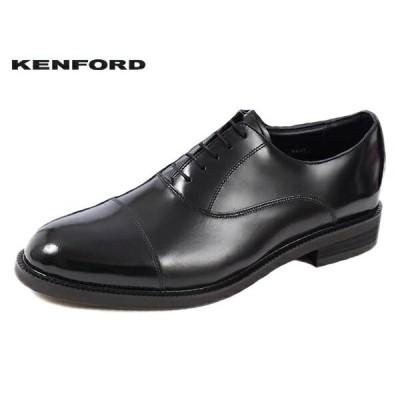 ケンフォード KENFORD KN36 AAJ BLK ブラック ストレートチップ 3E  ビジネス シューズ リーガル 紳士靴