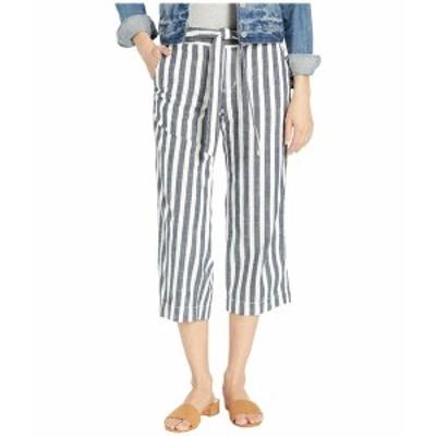 サンクチュアリー レディース カジュアルパンツ ボトムス Sasha Stripe Crop Pants Raven Stripe