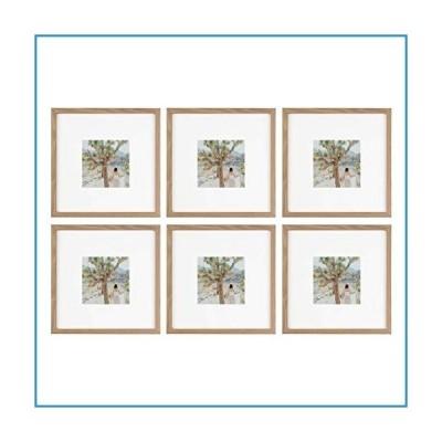 新品Sheffield Home Decorコレクション 写真フレーム6点セット ギャラリーセット 8x8インチ マット4x4インチ (