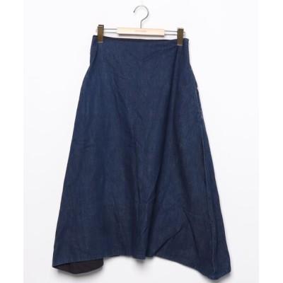 ZOZOUSED / デニムロングスカート WOMEN スカート > デニムスカート