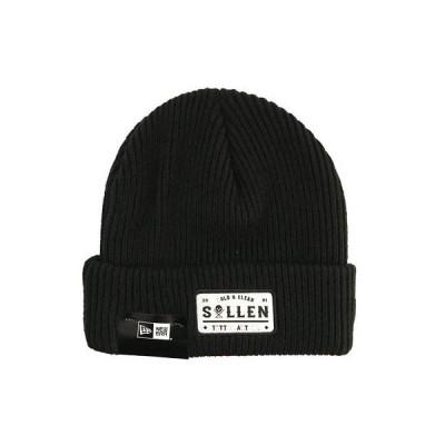 帽子 サレン Sullen Men's Bold and Clean Beanie Black Headwear Snowboard Cold Skii Winter
