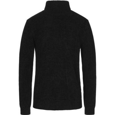 オフィチーナ トレンタ セイ OFFICINA 36 メンズ ニット・セーター トップス turtleneck Black