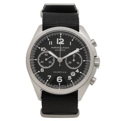 ハミルトン 腕時計 メンズ HAMILTON H76456435 41MM シルバー ブラック