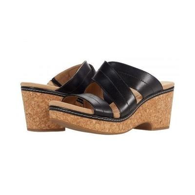 Clarks クラークス レディース 女性用 シューズ 靴 ヒール Giselle Tide - Black Leather
